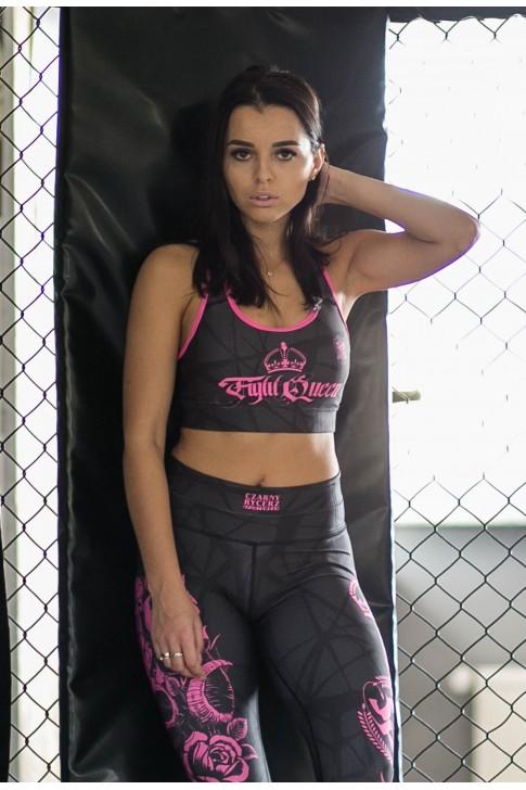 Top Damski Fight Queen Pink