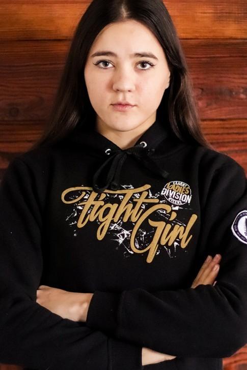 Bluza damska Fight Girl złota
