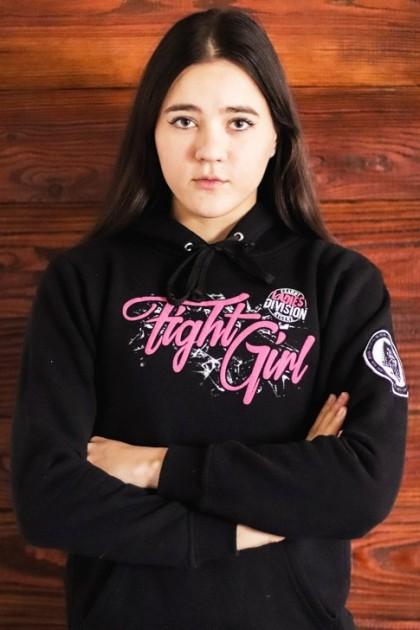 Bluza damska Fight Girl różowa