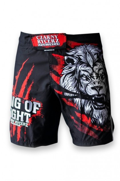 Spodenki MMA Lion Red