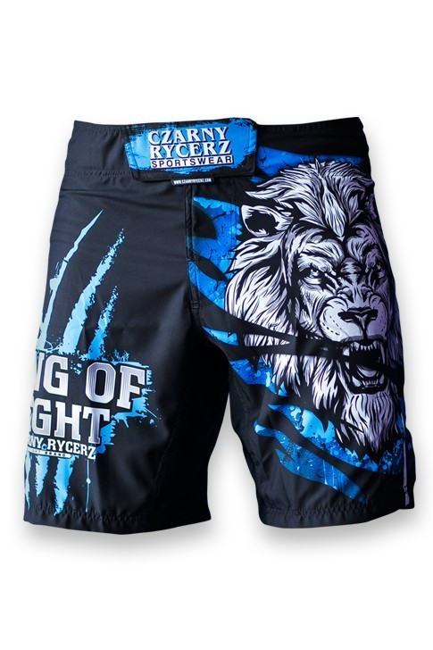 Spodenki MMA Lion Blue