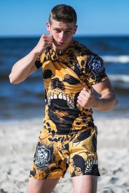 Spodenki Kickboxing Angry Skull