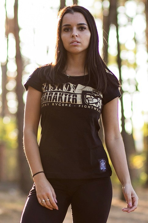 Koszulka Damska Zasady Złota