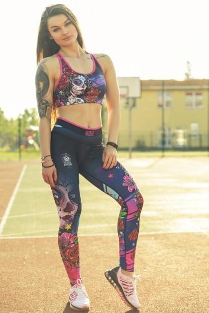 Leginsy Damskie Tattoo