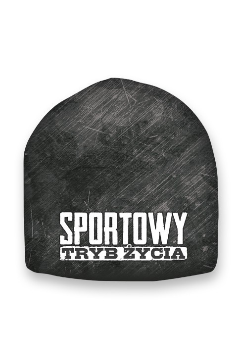 Czapka Sportowy Tryb Życia Grey