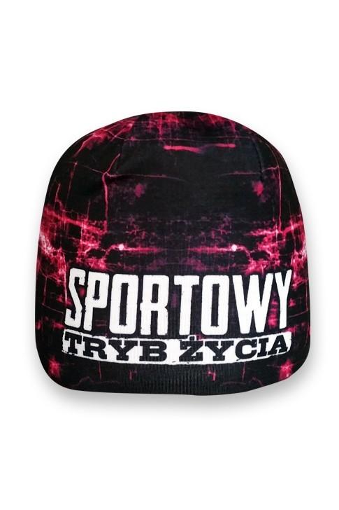 Czapka Sportowy Tryb Życia Pink