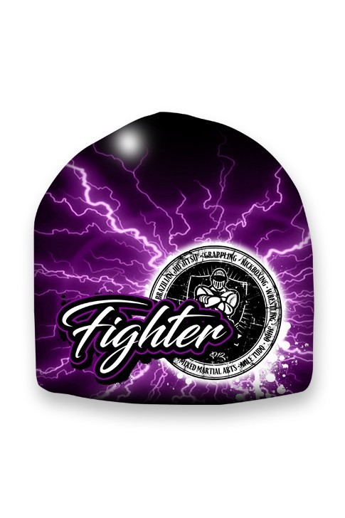Czapka Fighter Purple