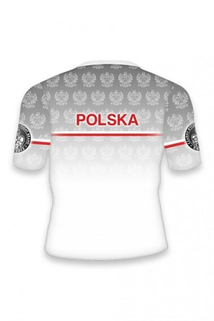 Koszulka Sportowa Polska Biała