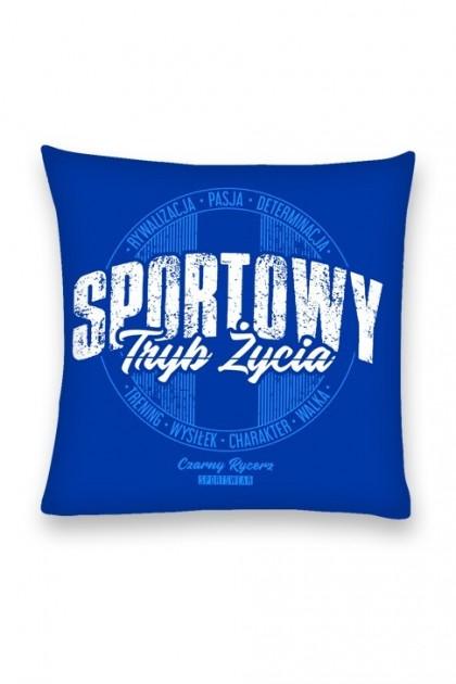Poduszka Sportowy Tryb Życia Blue