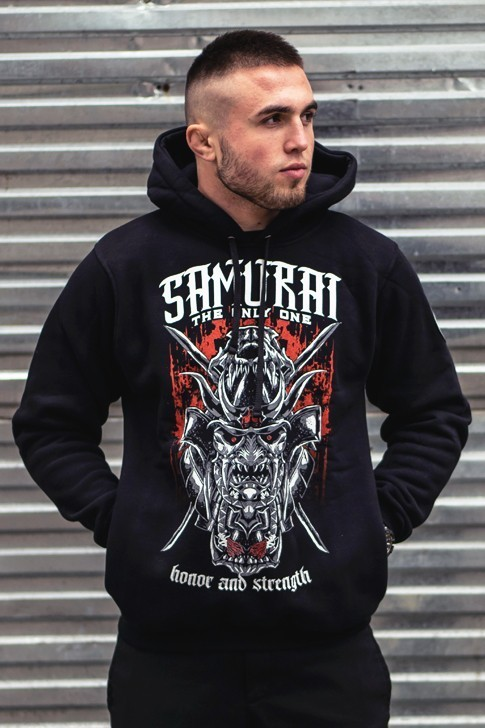 Bluza Samurai z Kapturem