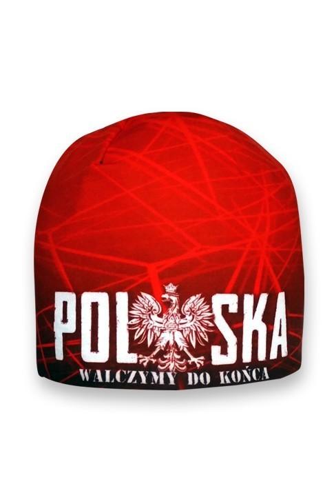 Czapka Polska Czerwona