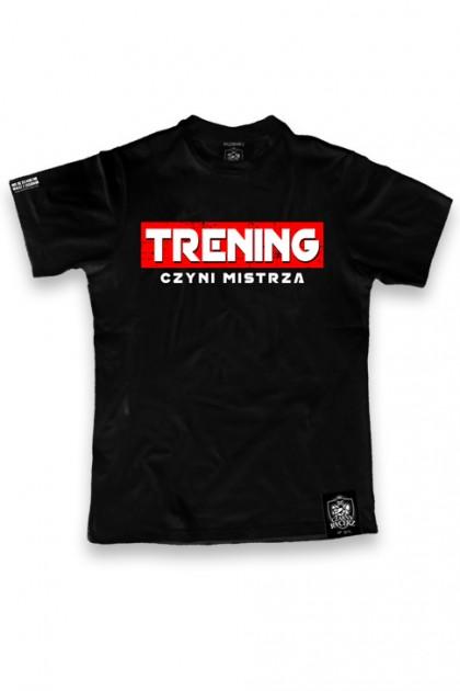 Koszulka Trening Czyni Mistrza