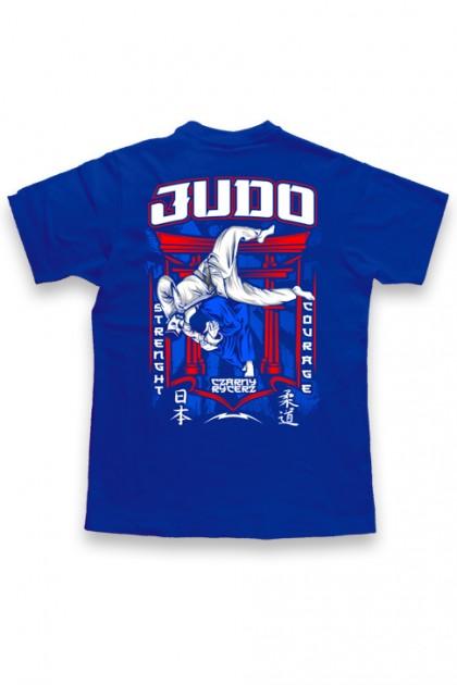 Koszulka Judo 2020 Blue