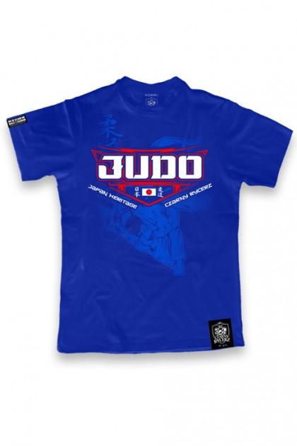Koszulka Judo 2020 Blue KIDS