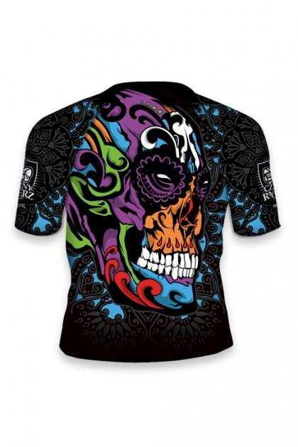 Rashguard Mexican Skull KIDS