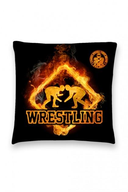 Poduszka Wrestling Fire