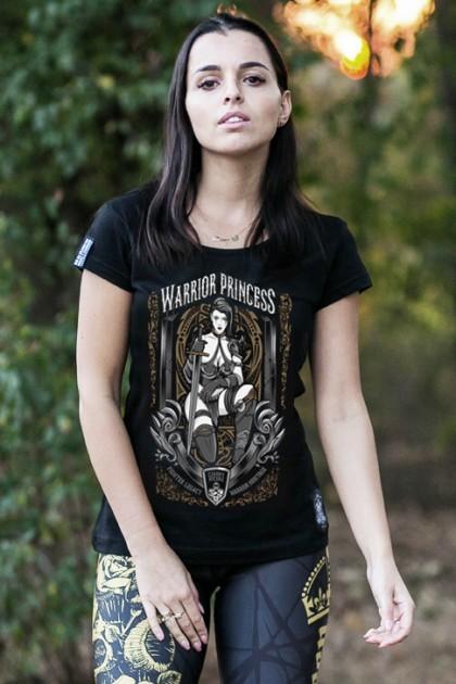Koszulka Warrior Princess Gold Damska