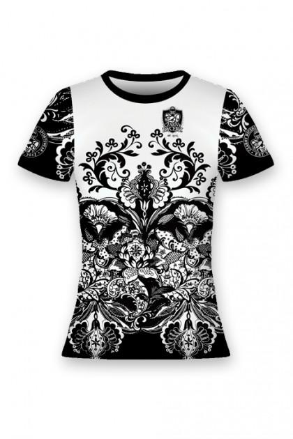 Koszulka Sportowa Damska Black & White