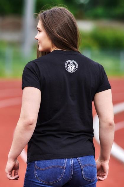 Koszulka Damska Trening Czyni Mistrza