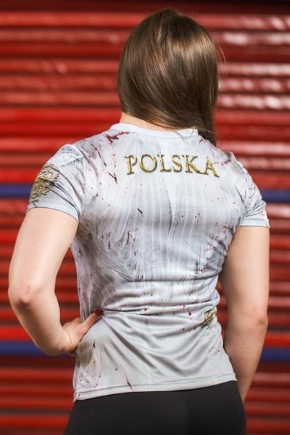 Koszulka Sportowa Damska Orzeł