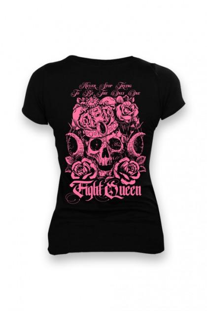 Koszulka Damska Fight Queen Biały