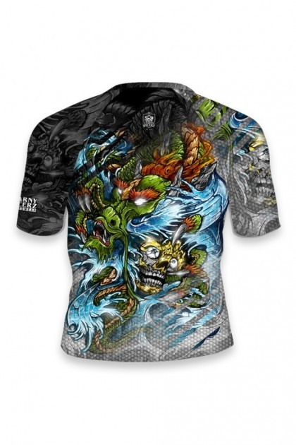 copy of Rashguard Yakuza White