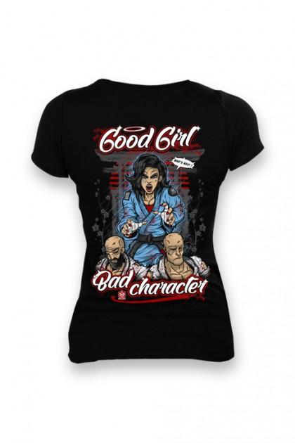 Koszulka Damska Good Girl Black
