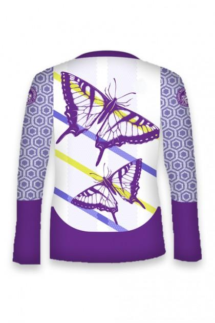 Koszulka Sportowa Damska Butterfly Long OVERSIZE