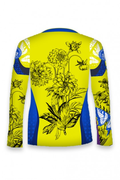 Koszulka Sportowa Damska Butterfly 2.0 Long OVERSIZE