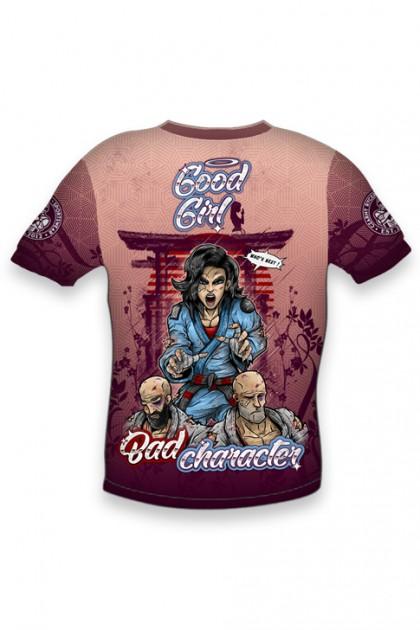 Koszulka Sportowa Damska Good Girl OVERSIZE