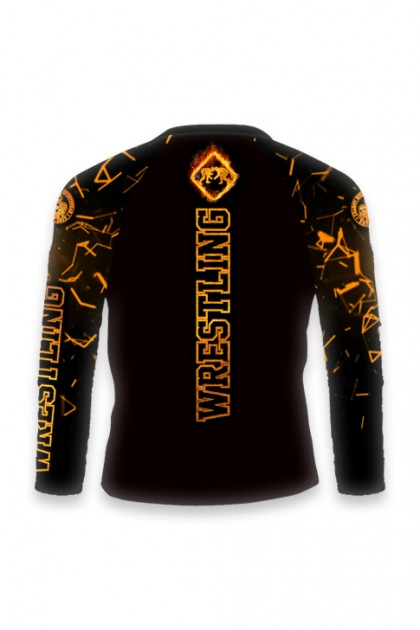 copy of Rashguard Wrestler Long