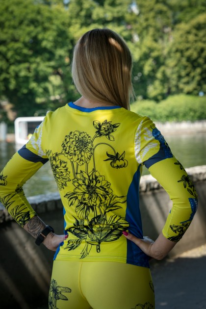 Koszulka Sportowa Damska Butterfly 2.0 Long