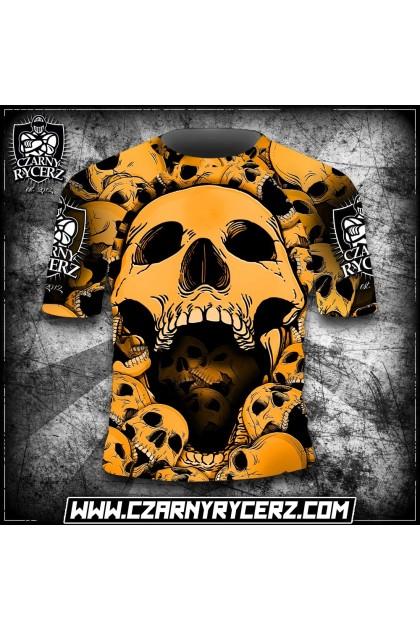 Rashguard Angry Skull