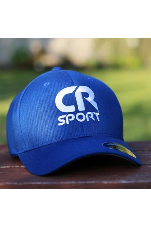 Czapka CR niebieska