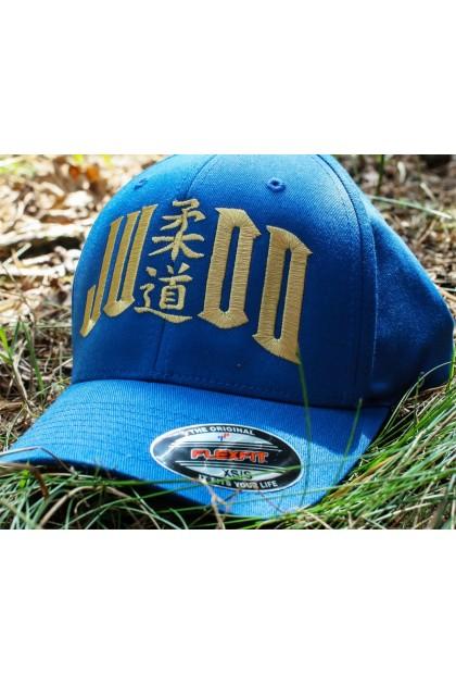 Czapka Judo niebieska